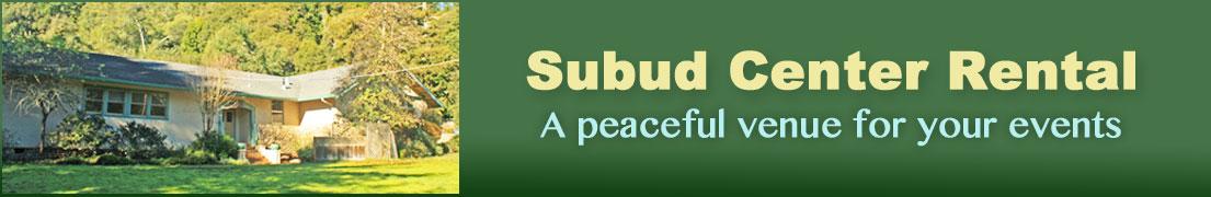 Subud Center Rental